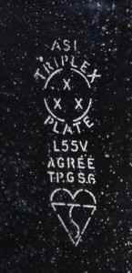 Triplex Plate 1955
