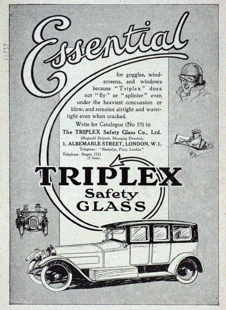 triplex toughened glass dating Dating of pre-war triplex glass 1929-1940 toughened glass in the trade mark the words triplex and toughened were arranged in a circular formation around a.