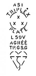 Triplex logo 1960