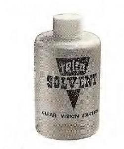 Trico 6 oz solvent plastic bottle