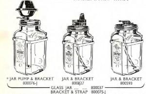 Trico square jars
