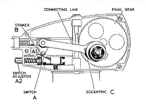 Lucas DR1 drawing park switch the lucas 2 speed dr1 wiper motor jaguar xk 140 fhc part lucas dr3 wiper motor wiring diagram at gsmx.co