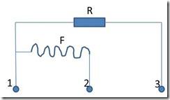 Lucas DR1 field coil scheme