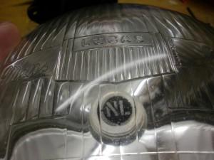 Lucas Le Mans glass lens