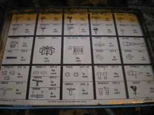 Trico spare parts box content