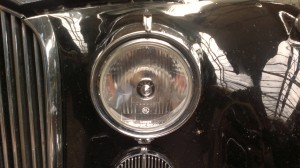 Jaguar Mk VIII headlamp