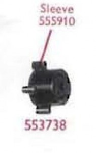 Bulb holder Lucas 553738 late