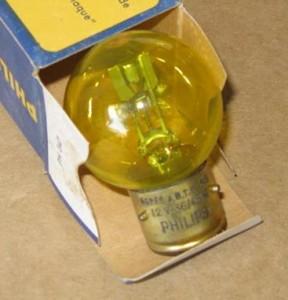 Bulb yellow p45t