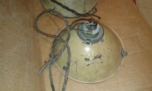 Headlamp XK120 bulb holder + ring