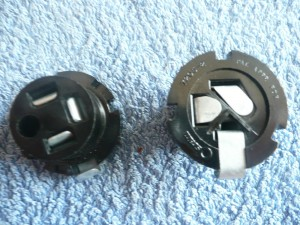 Adaptor BPF to 3 pin bulb fore and aft