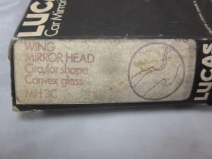 Lucas later mirror head MH 3C