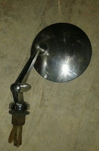 TEX adjustable with round mirror head