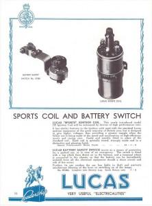 Lucas catalogue 1937 HS 12