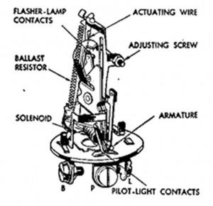 Lucas flasher schematic