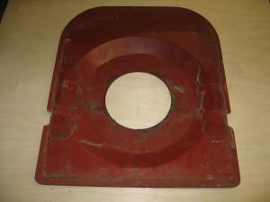 Seat steel pan top