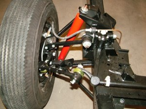 Suspension top shock XK 120