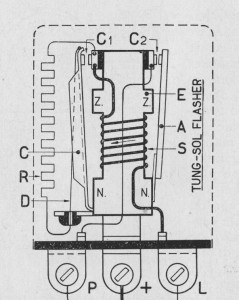 Tung Sol flasher schematic