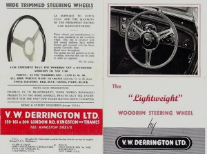 Derrington brochure 1960 pages 1 & 2