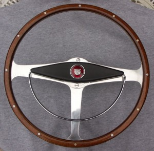 Derrington wheel Jaguar Mk 2 with horn ring