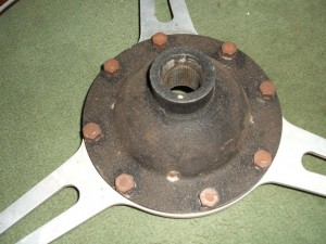 Original 8 bolt Derrington wheel back side