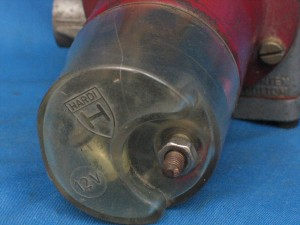 Hardi J58 fuel pump cover 1971