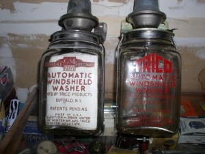 Trico pre 1950 US washer bottles