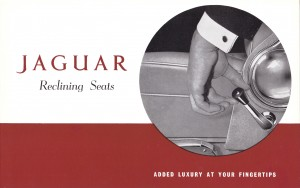 Jaguar MK2 reclining seat later version