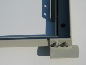 Seat frame LH stop bracket
