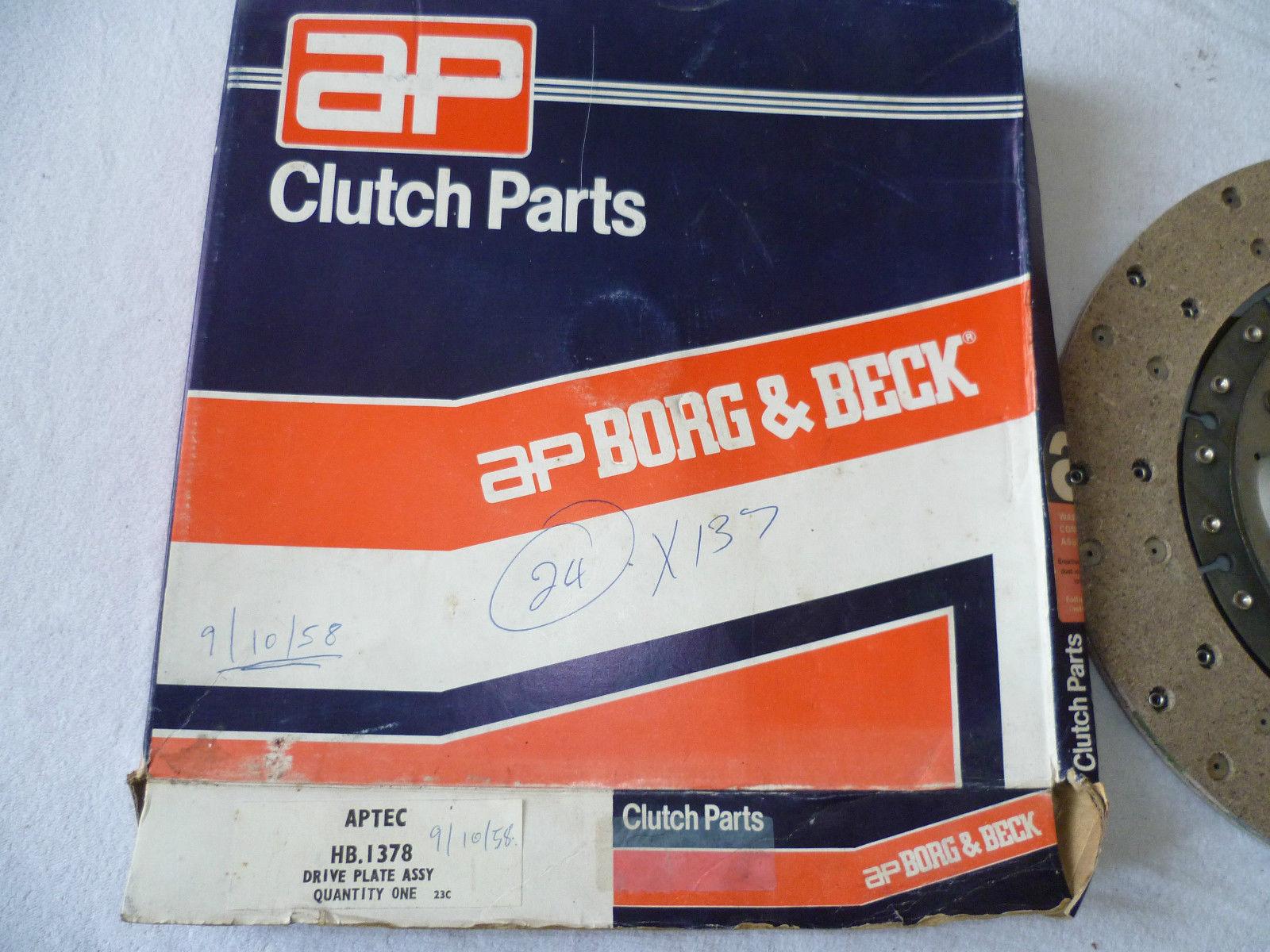 "HK5229 E-type Borg /& Beck Clutch Kit pour 254 mm Clutch 10/"""