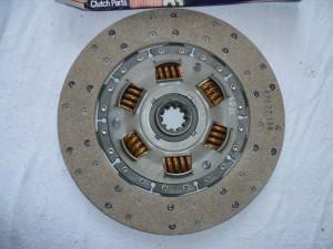 Clutch driven plate 47627 124 1958