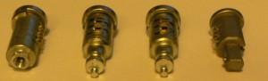 Door locks set for XK 140 new