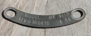 type-plate-hf1748-xk-140