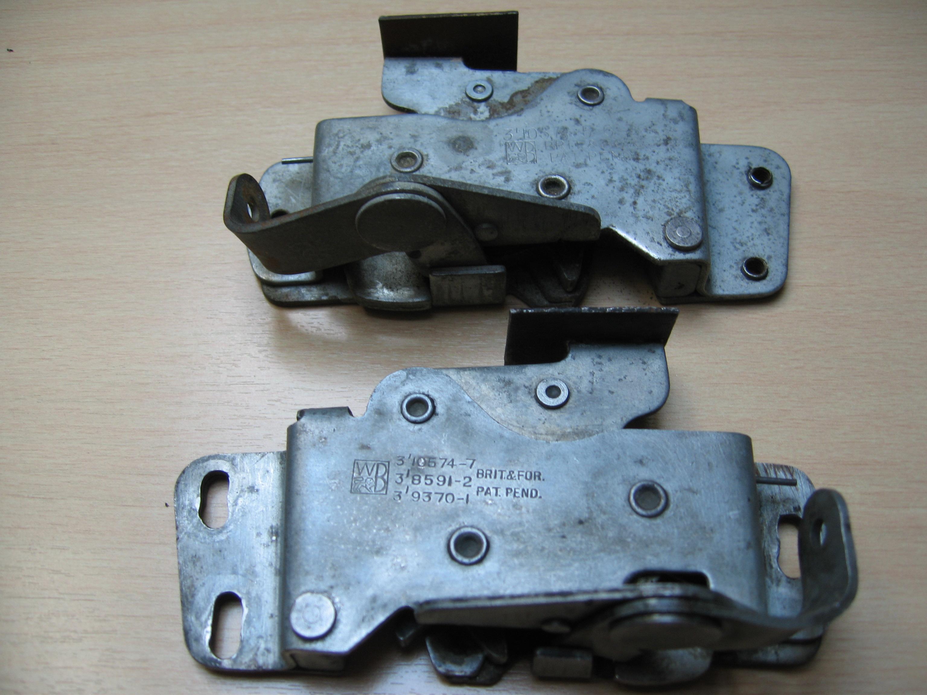 ... Door Lock WB for Turner Mk 1 & Turner 950 Mk 1 Door Locks | Turner 950 Part and Assembly Information Pezcame.Com