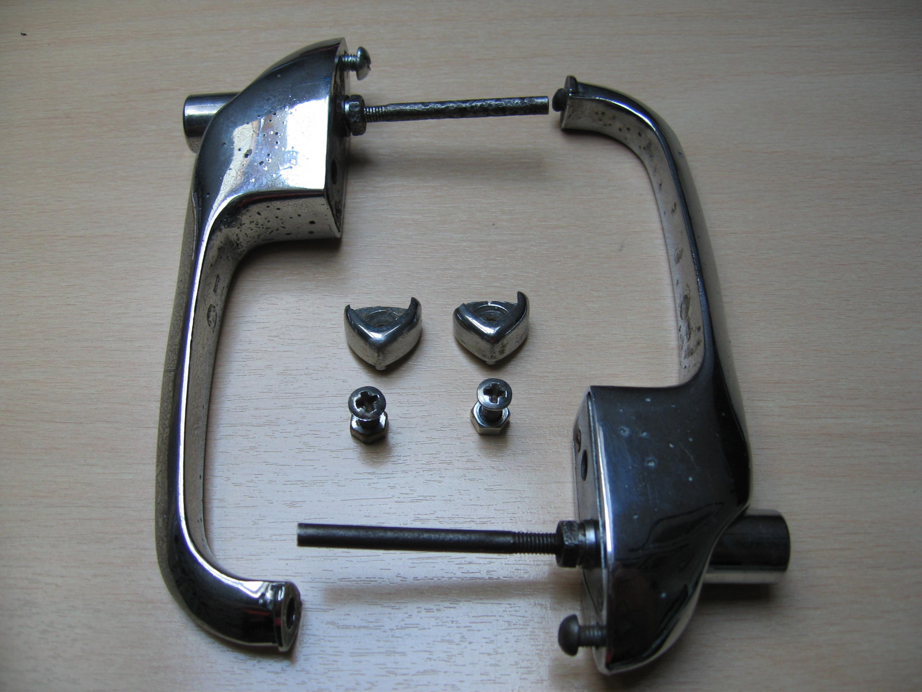 Handles WB for Turner Mk 1 ... & Turner 950 Mk 1 Door Locks | Turner 950 Part and Assembly Information Pezcame.Com