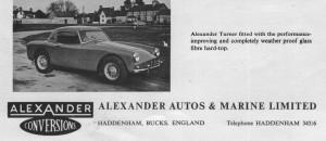 Alexander Turner add 1960