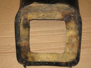Turner seat underside